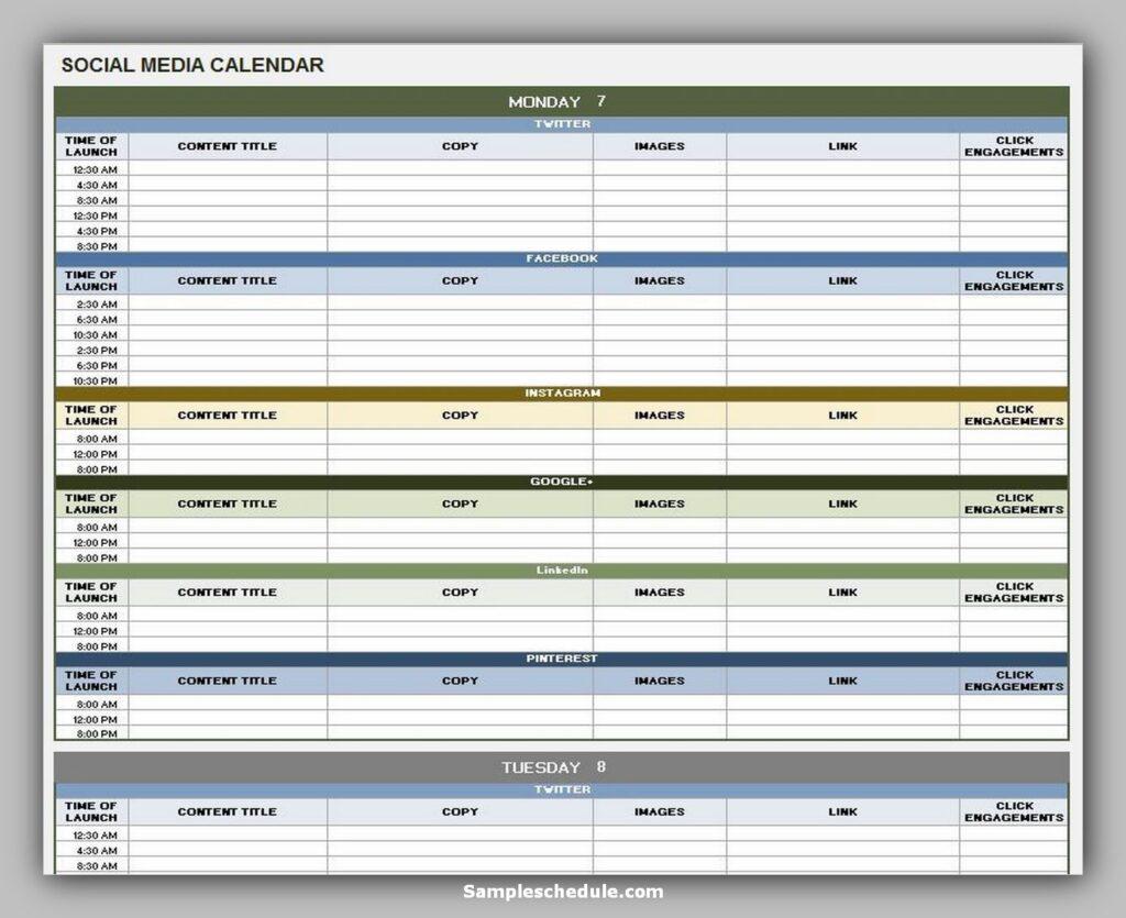 social media schedule template 01