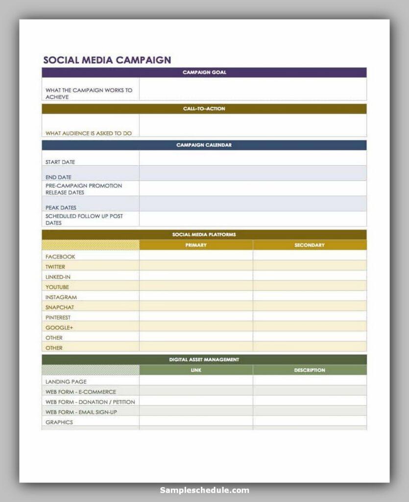social media schedule template 07