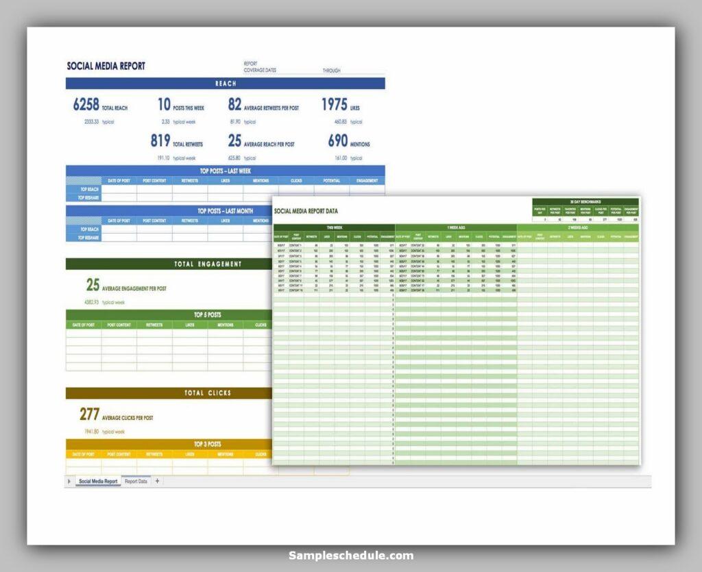 social media schedule template 09