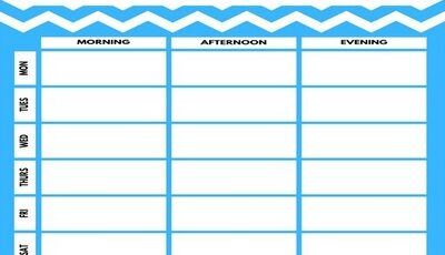 gym schedule template featured